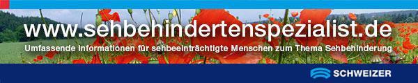 Banner Sehbehindertenspezialist.de
